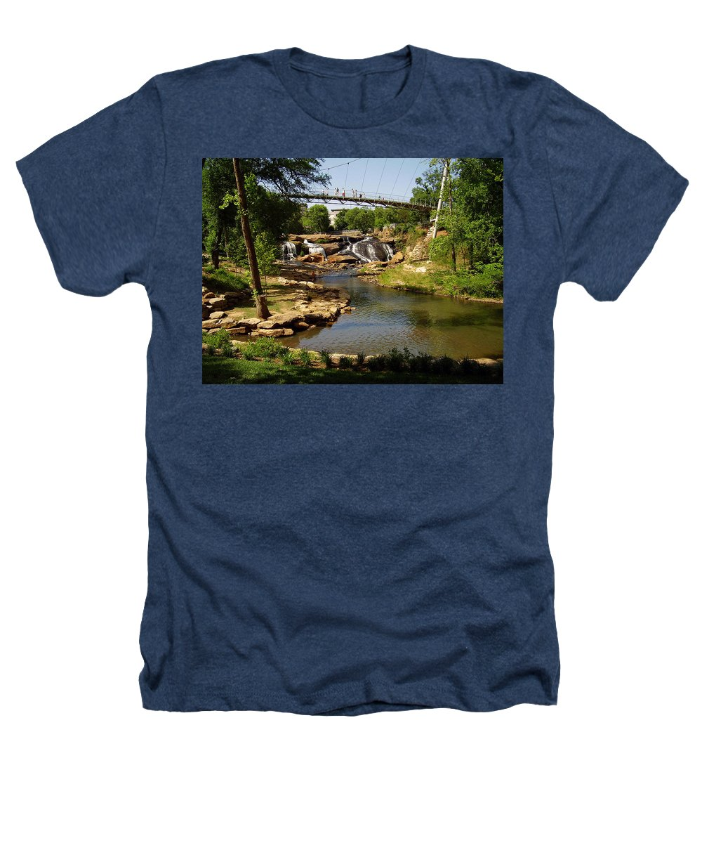 Liberty Bridge Heathers T-Shirt featuring the photograph Liberty Bridge by Flavia Westerwelle