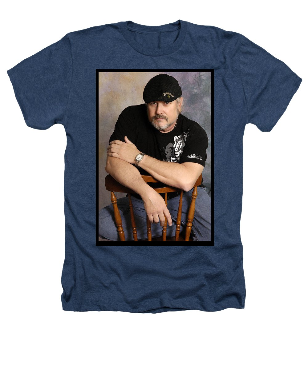 Clay Heathers T-Shirt featuring the photograph The Artist by Clayton Bruster