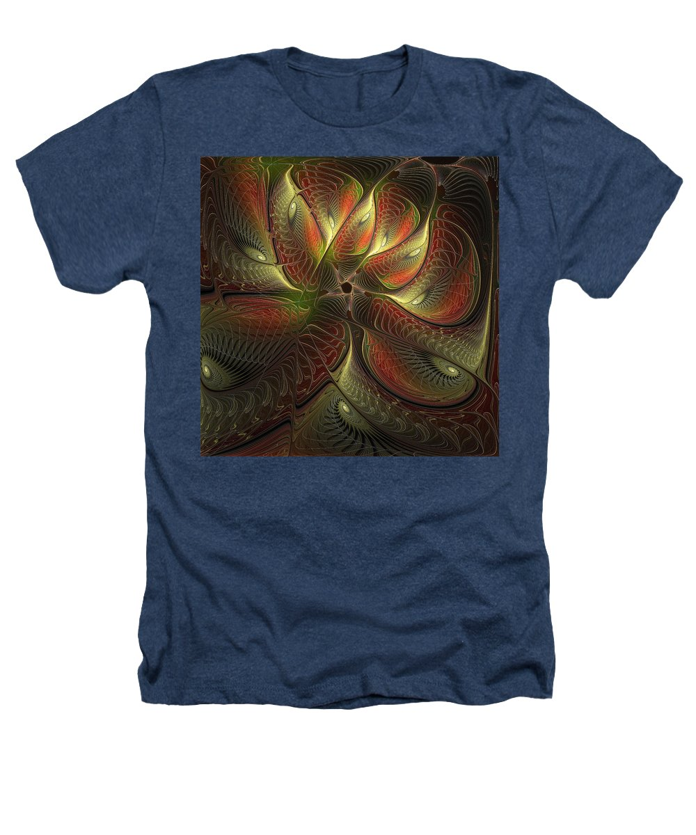 Digital Art Heathers T-Shirt featuring the digital art Watchful by Amanda Moore