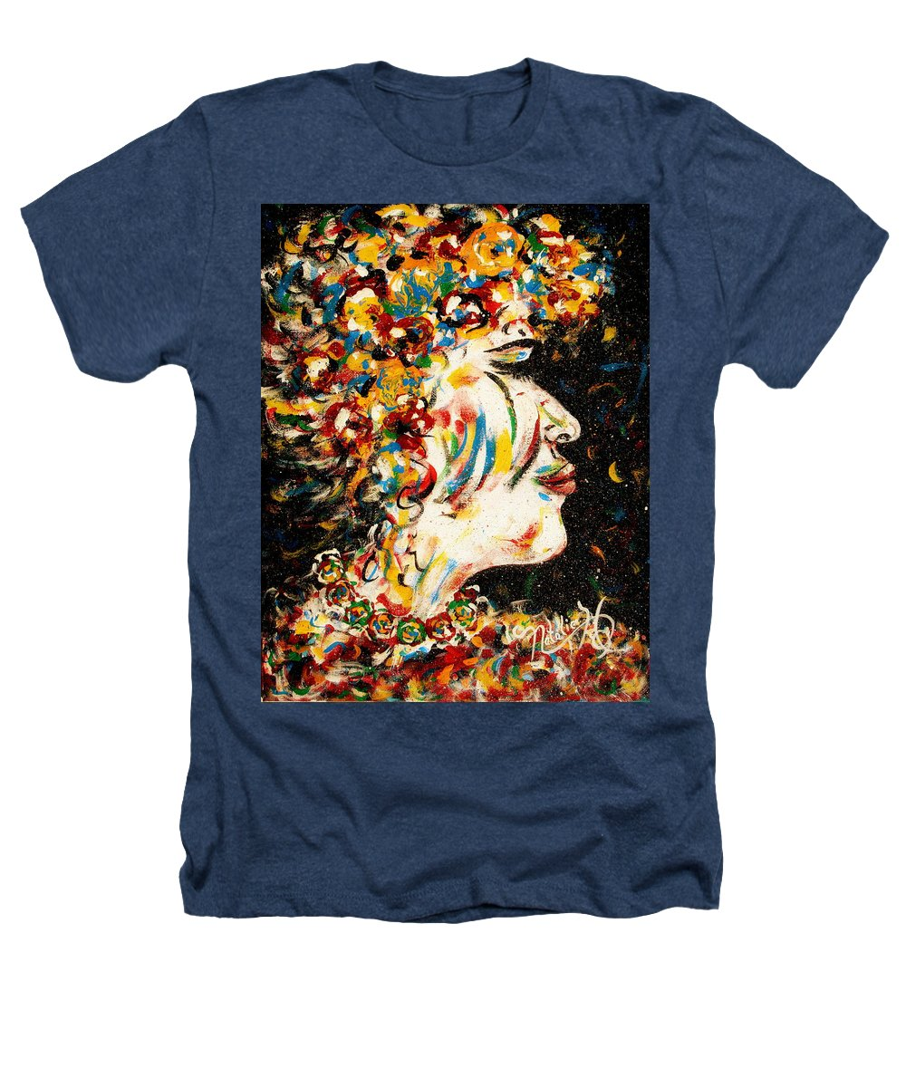 Woman Heathers T-Shirt featuring the painting Absolutely Not by Natalie Holland