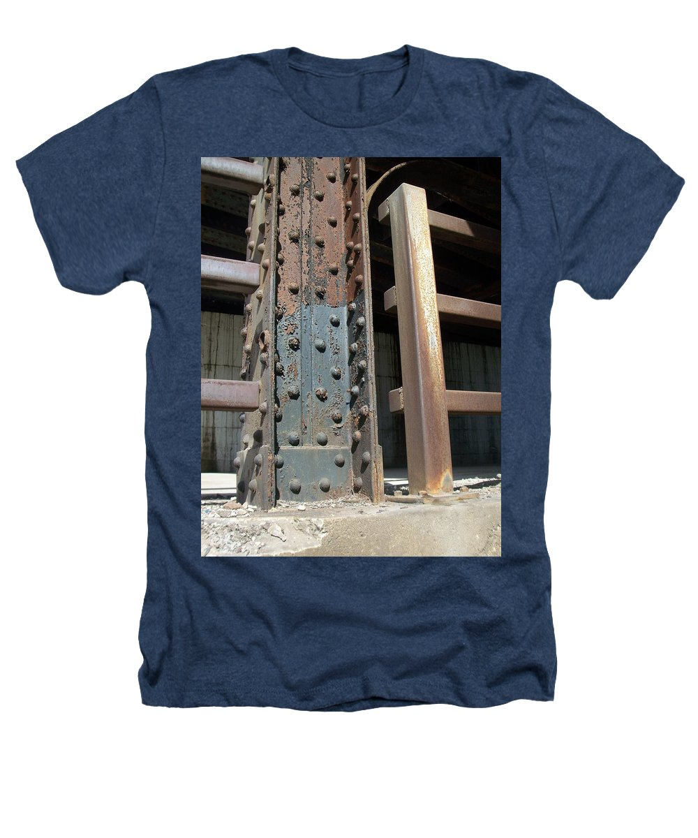 Urban Heathers T-Shirt featuring the photograph Abstract Rust 1 by Anita Burgermeister