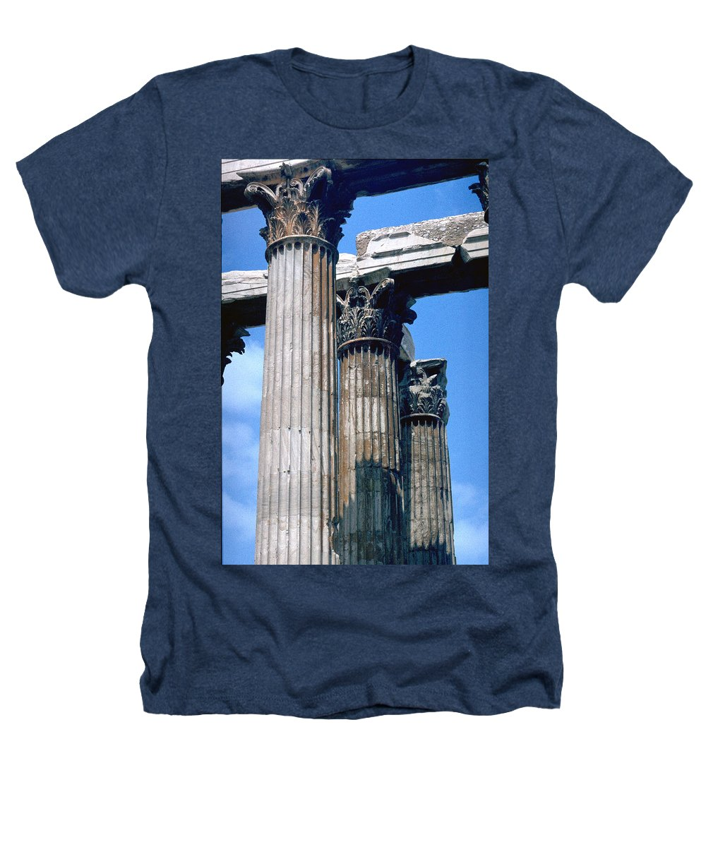 Acropolis Heathers T-Shirt featuring the photograph Acropolis by Flavia Westerwelle