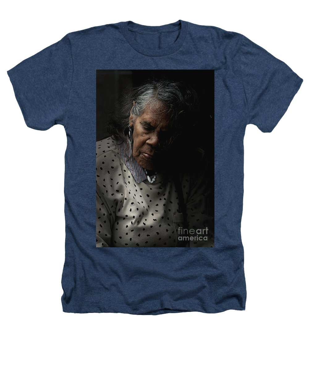 Portrait Heathers T-Shirt featuring the photograph Alice by Sheila Smart Fine Art Photography