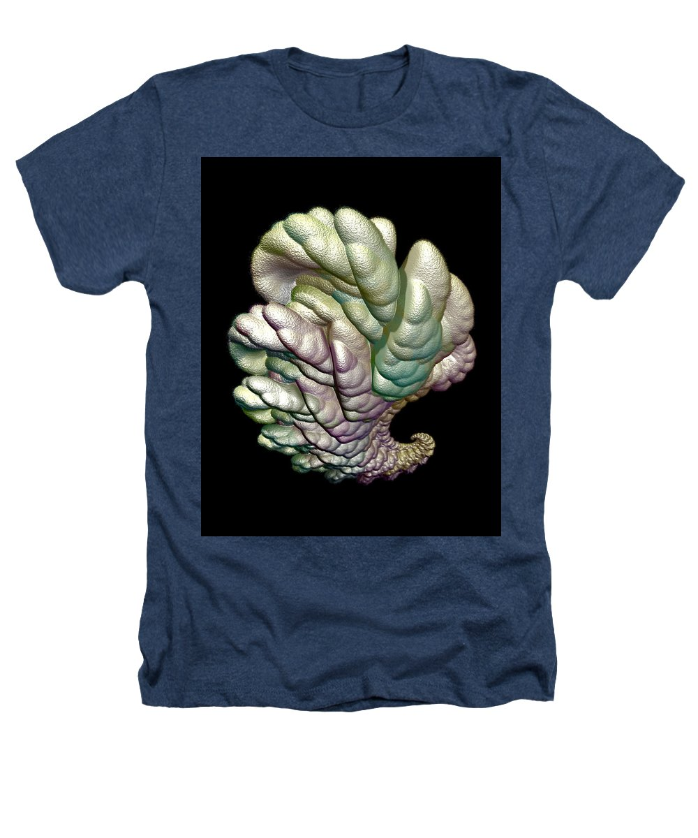 Fractal Heathers T-Shirt featuring the digital art Alien Brain by Frederic Durville