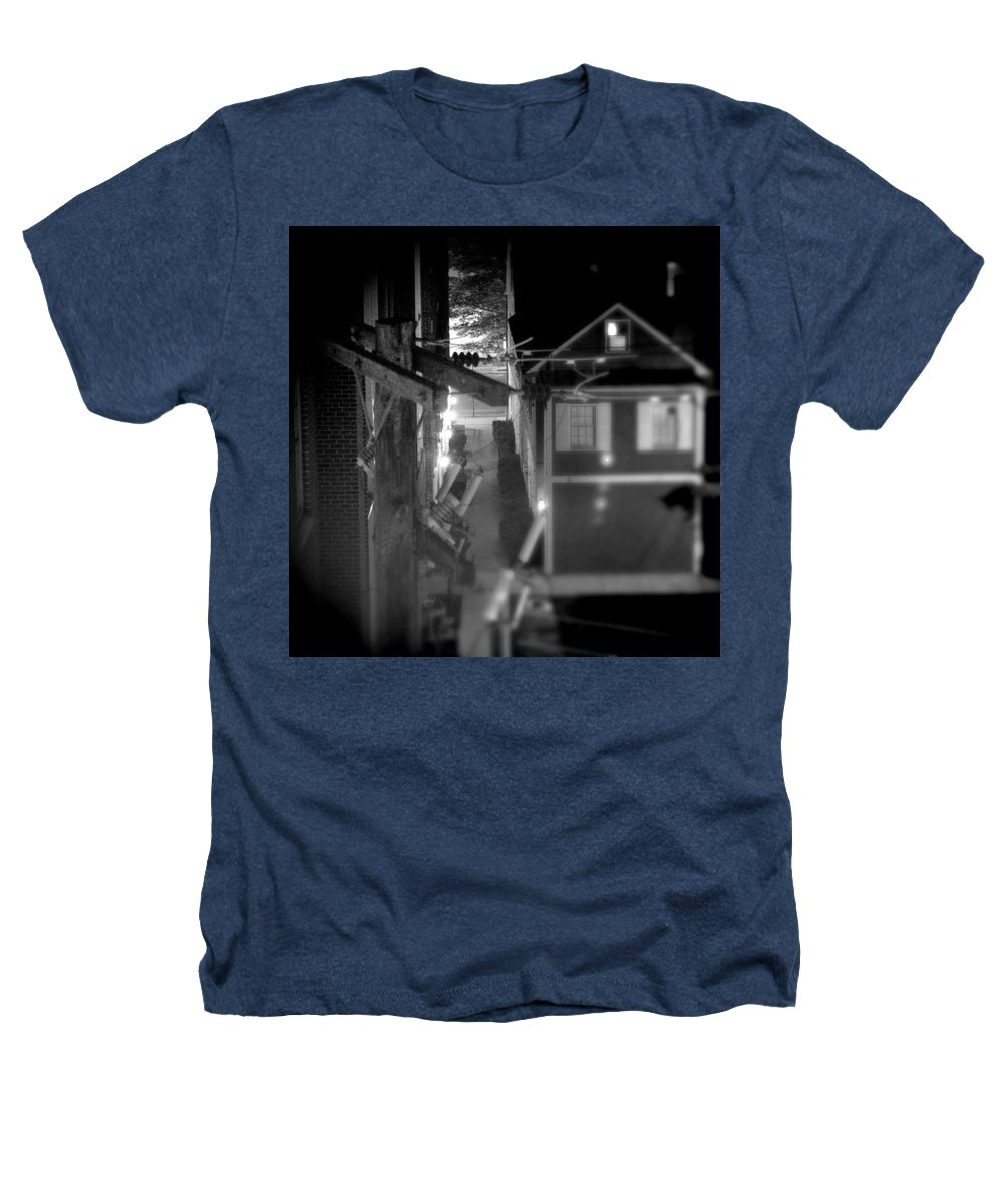Alley Heathers T-Shirt featuring the photograph Alley To High by Jean Macaluso
