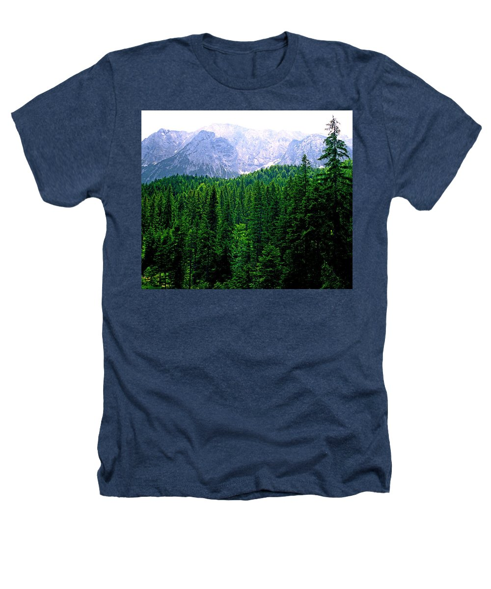 Bavaria Heathers T-Shirt featuring the photograph Alpine Forest by Kevin Smith