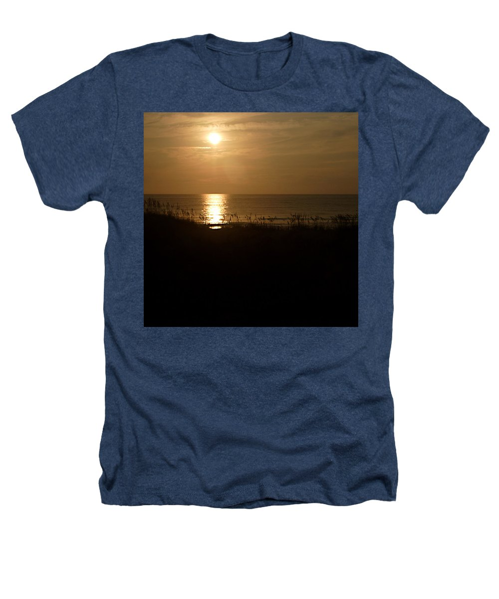 Color Heathers T-Shirt featuring the photograph Another Day Ends by Jean Macaluso