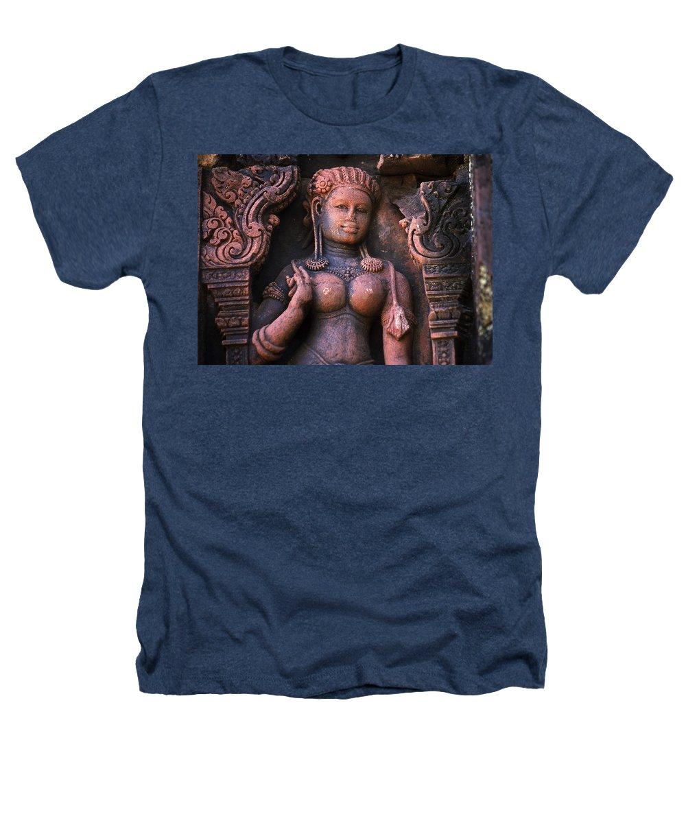 Apsara Heathers T-Shirt featuring the photograph Apsara by Patrick Klauss