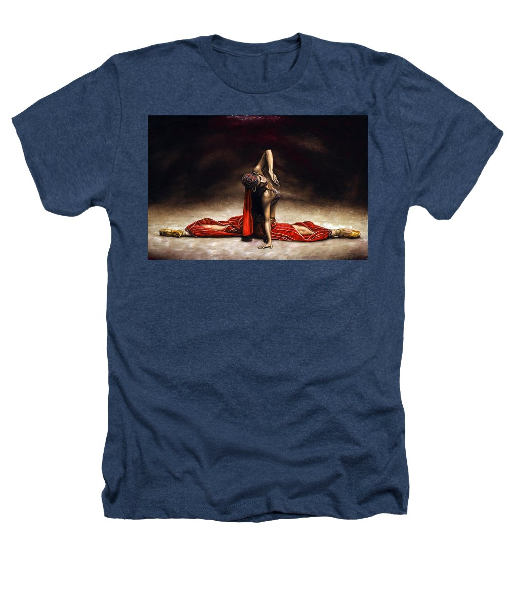 Ballerina Heathers T-Shirt featuring the painting Arabian Coffee by Richard Young