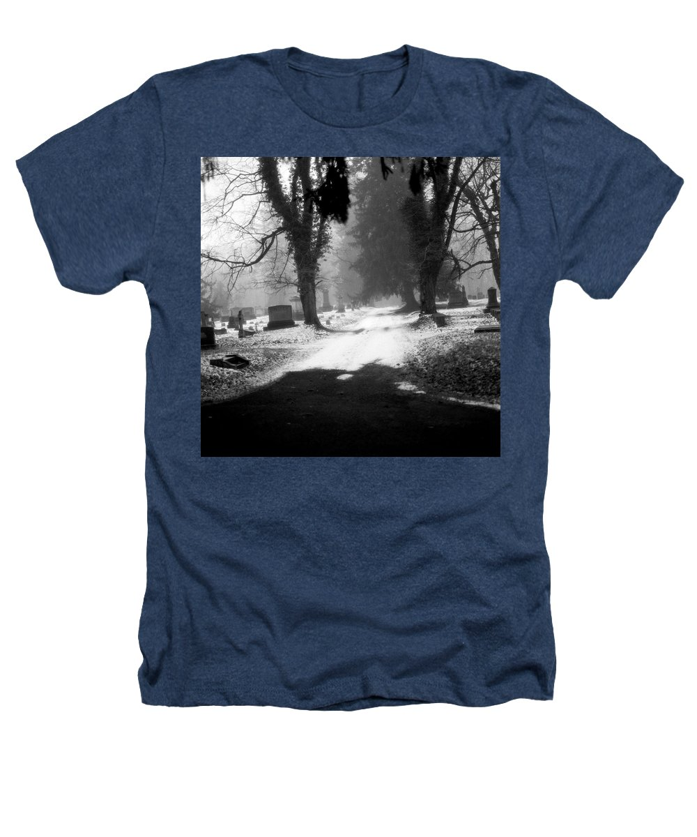 Photograph Heathers T-Shirt featuring the photograph Ashland Cemetery by Jean Macaluso