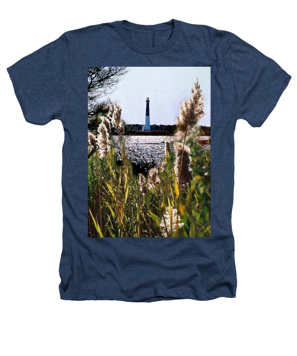 Barnegat Heathers T-Shirt featuring the digital art Barnegat Bay by Steve Karol