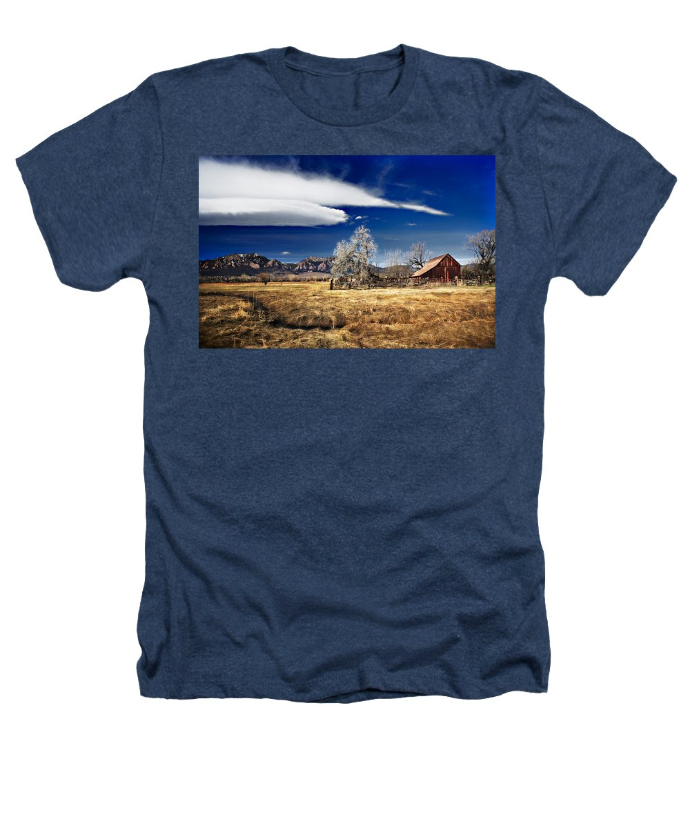 Colorado Heathers T-Shirt featuring the photograph Beautiful Colorado by Marilyn Hunt
