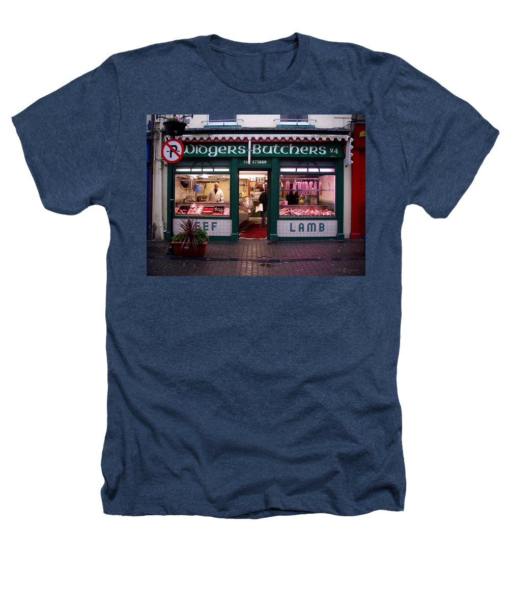 Butcher Heathers T-Shirt featuring the photograph Beef Lamb by Tim Nyberg