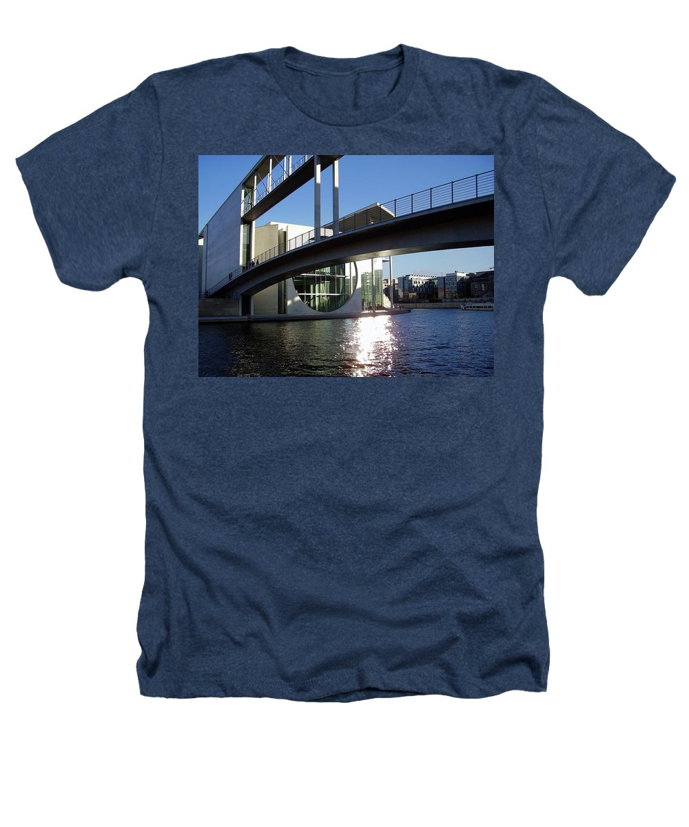Marie-elisabeth-lueders Heathers T-Shirt featuring the photograph Berlin by Flavia Westerwelle
