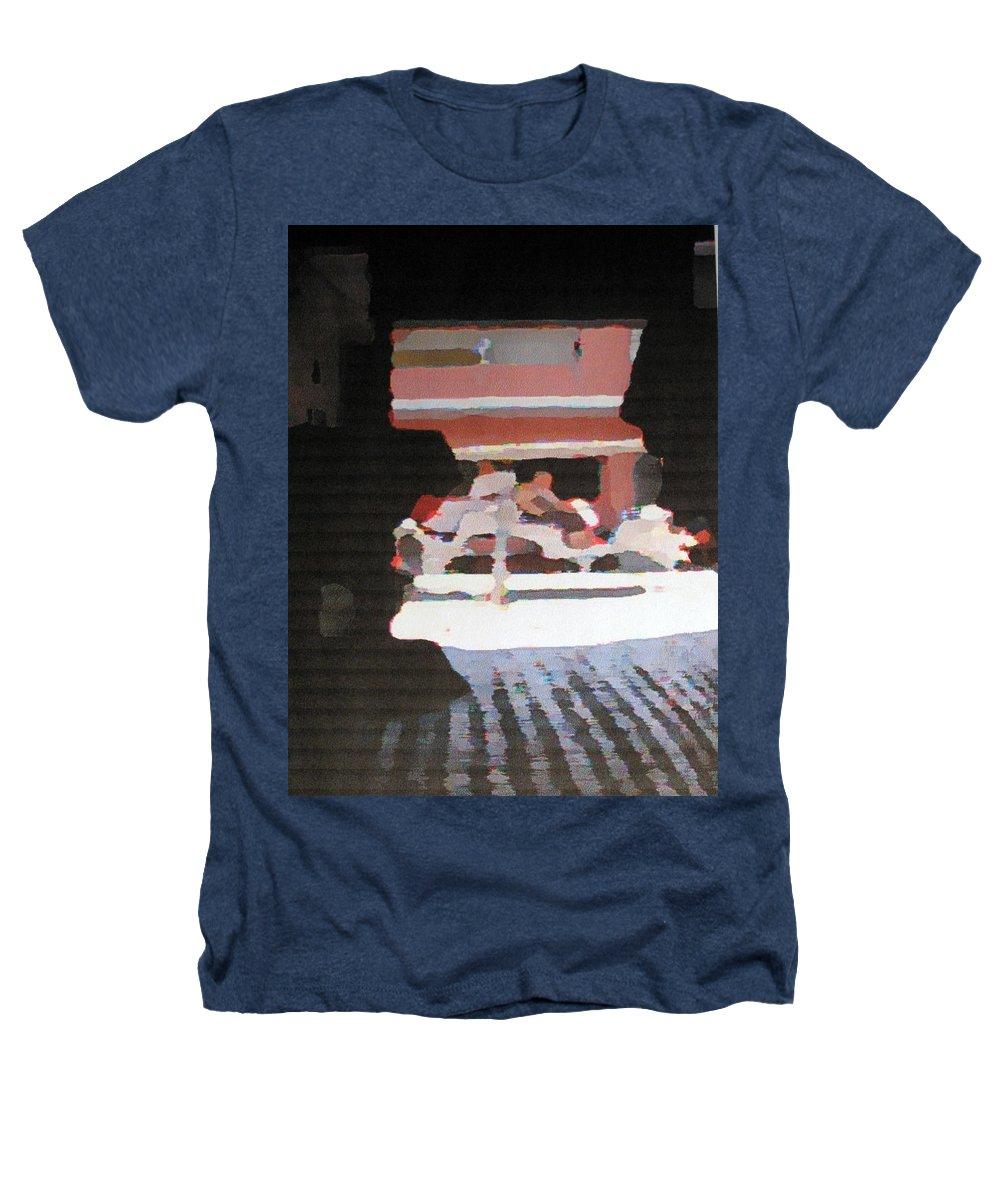 Bermuda Heathers T-Shirt featuring the photograph Bermuda Carriage Impressions by Ian MacDonald