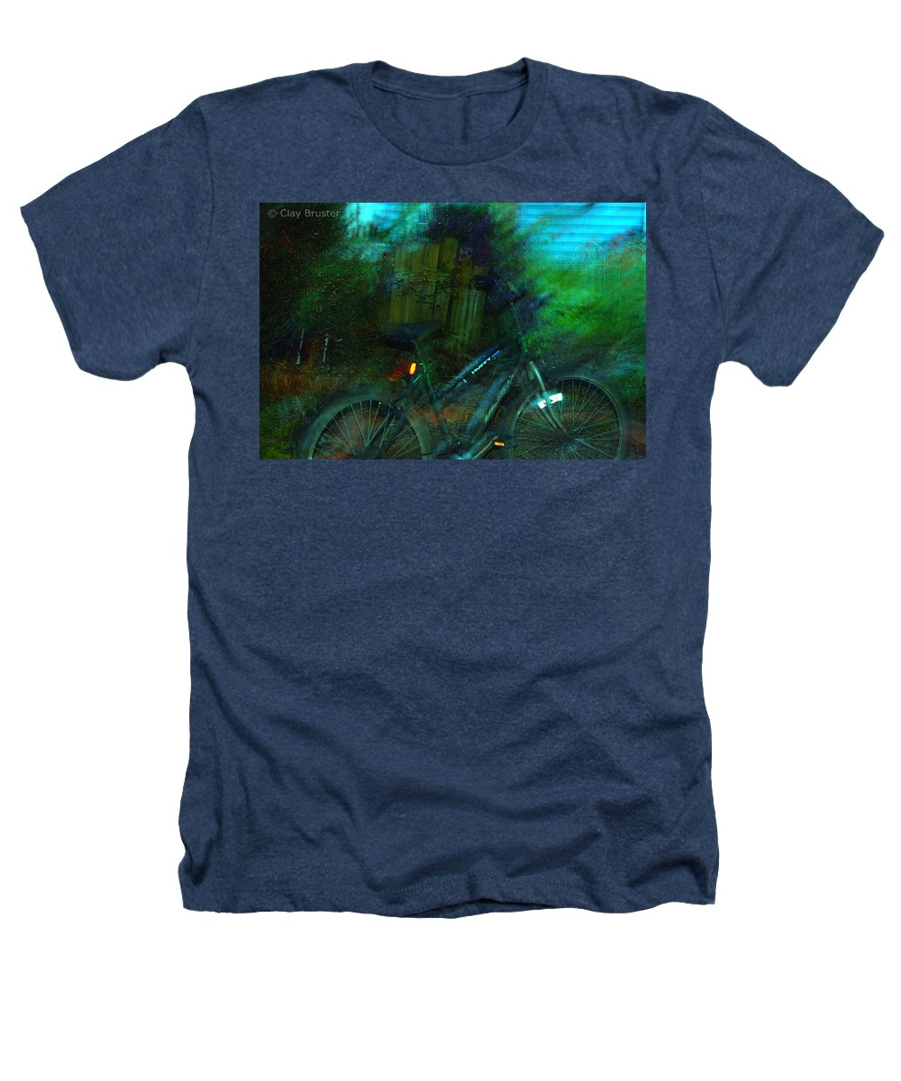 Clay Heathers T-Shirt featuring the photograph Bicycle by Clayton Bruster