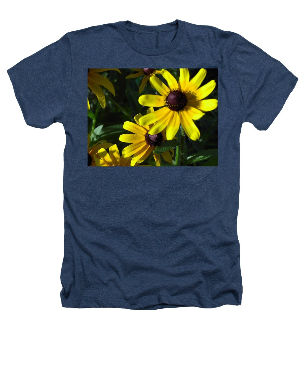 Charity Heathers T-Shirt featuring the photograph Black Eyed Susan by Mary-Lee Sanders
