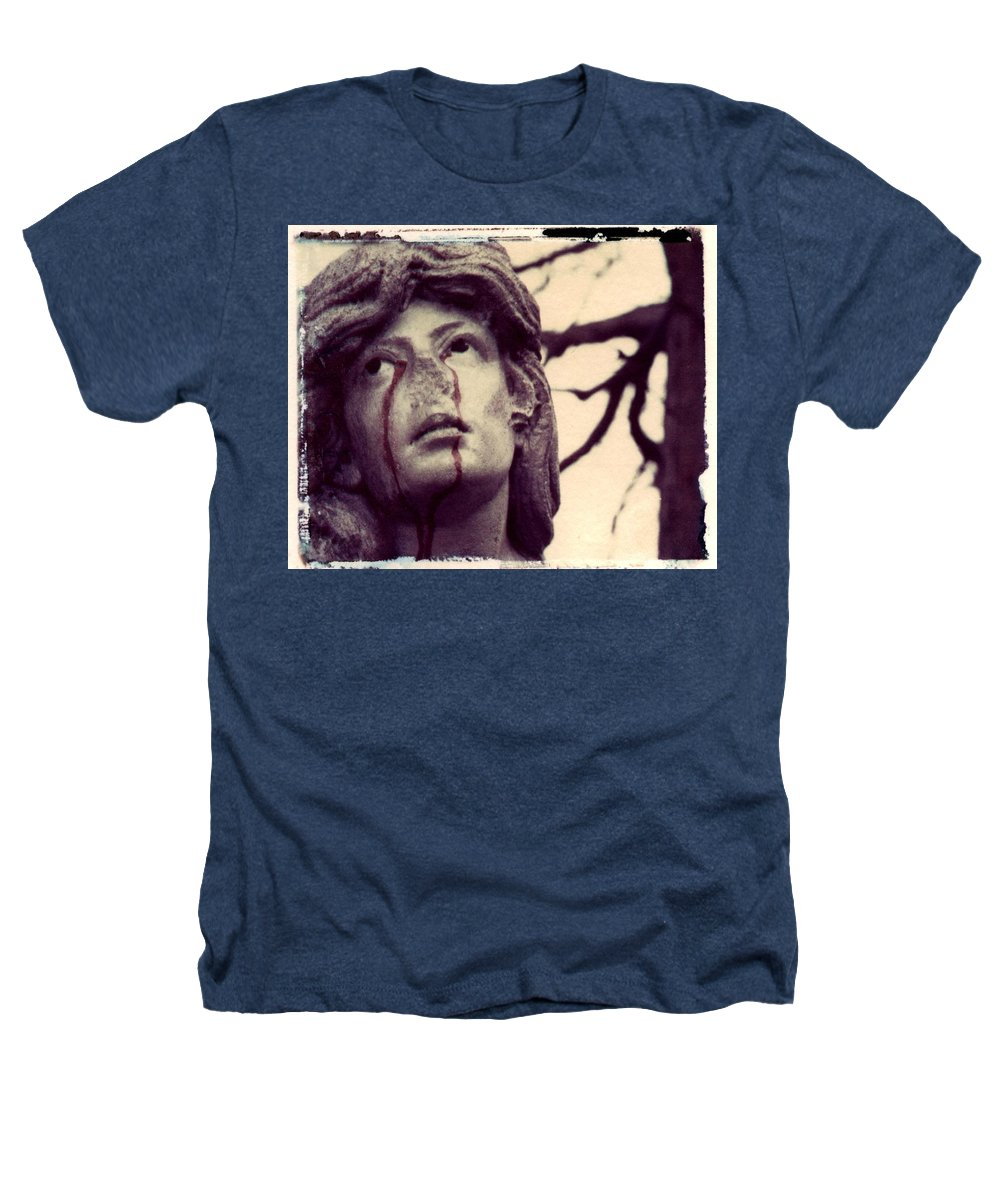 Polaroid Heathers T-Shirt featuring the photograph Blood Is The New Black by Jane Linders