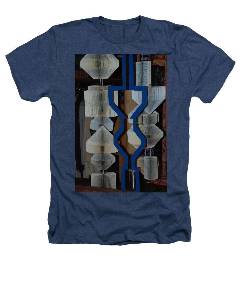 Window Heathers T-Shirt featuring the photograph Blue And White by Rob Hans