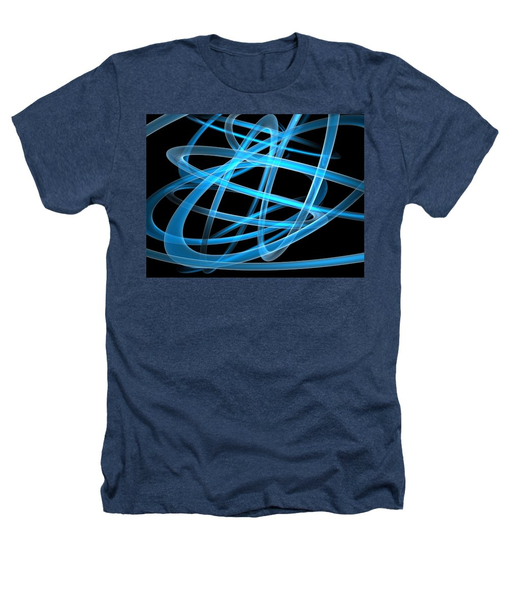 Scott Piers Heathers T-Shirt featuring the painting Blue Light by Scott Piers