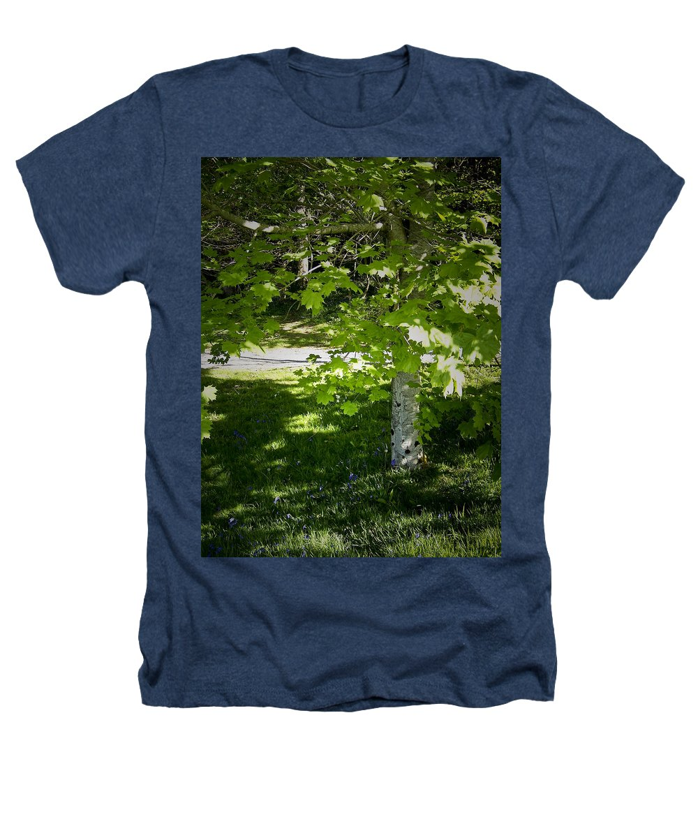 Irish Heathers T-Shirt featuring the photograph Bluebells In Killarney National Park Ireland by Teresa Mucha