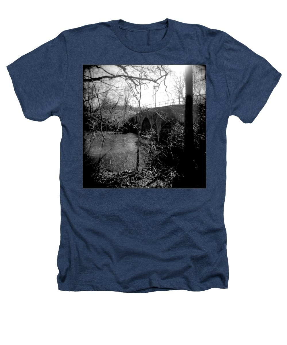 Photograph Heathers T-Shirt featuring the photograph Boiling Springs Bridge by Jean Macaluso