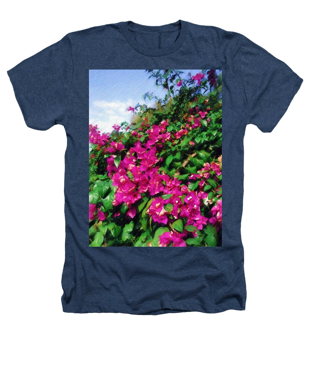 Bougainvillea Heathers T-Shirt featuring the photograph Bougainvillea by Sandy MacGowan