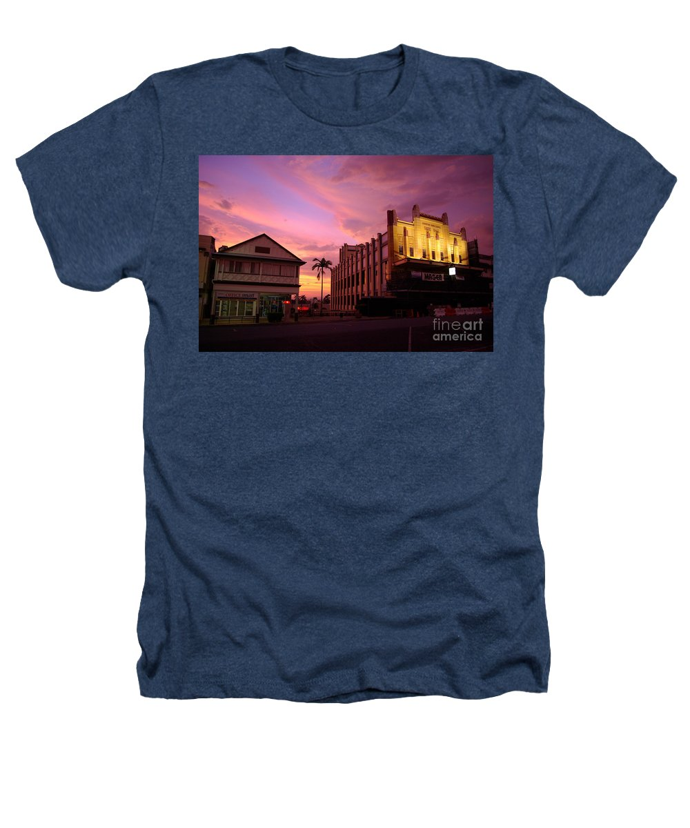 Evening Heathers T-Shirt featuring the photograph Brewing Storm by Kerryn Madsen- Pietsch