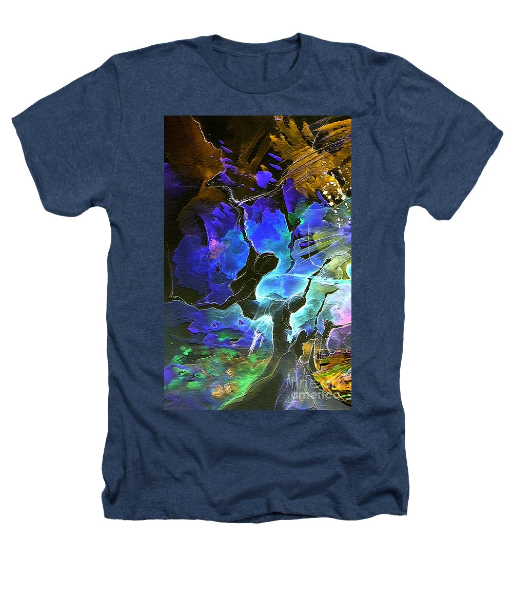 Miki Heathers T-Shirt featuring the painting Bye by Miki De Goodaboom