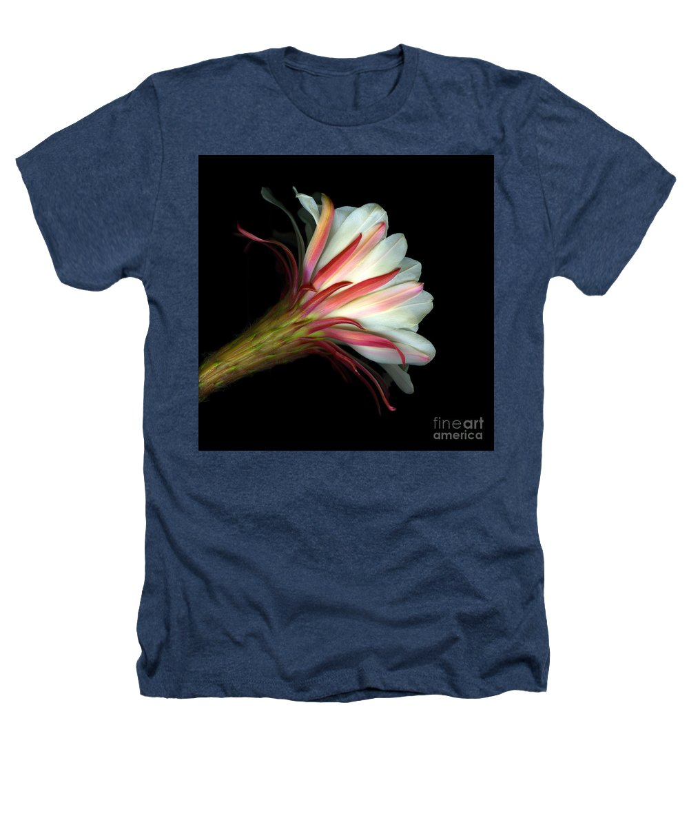 Scanart Heathers T-Shirt featuring the photograph Cactus Flower by Christian Slanec