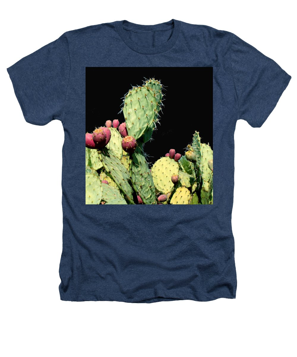 Cactus Heathers T-Shirt featuring the photograph Cactus Two by Wayne Potrafka