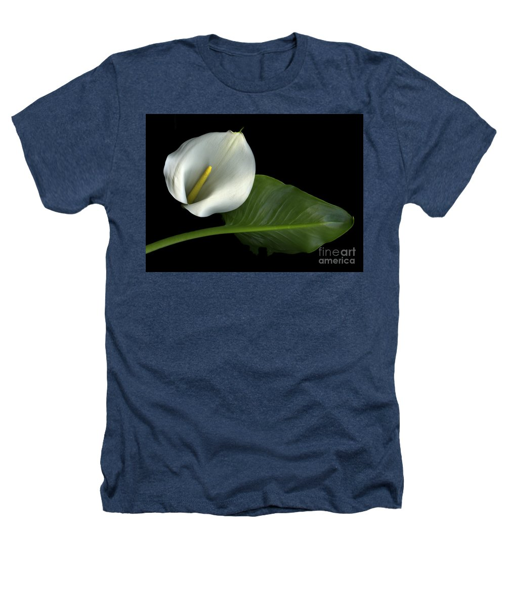 Scanography Heathers T-Shirt featuring the photograph Calla Lily by Christian Slanec
