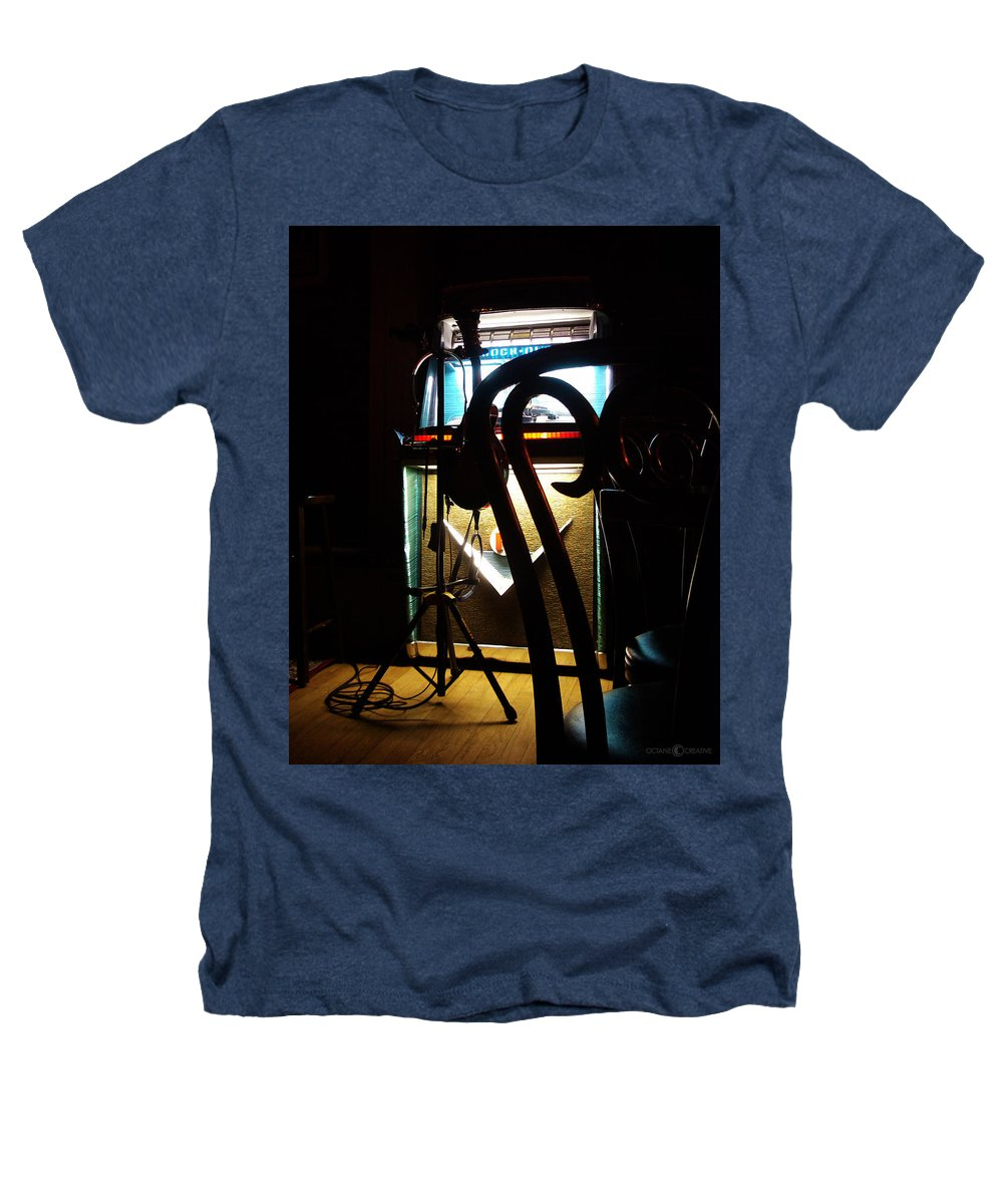Music Heathers T-Shirt featuring the photograph Canned Music by Tim Nyberg