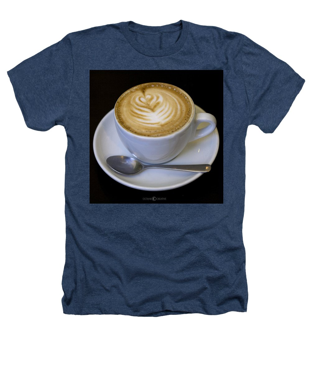 Coffee Heathers T-Shirt featuring the photograph Cappuccino by Tim Nyberg