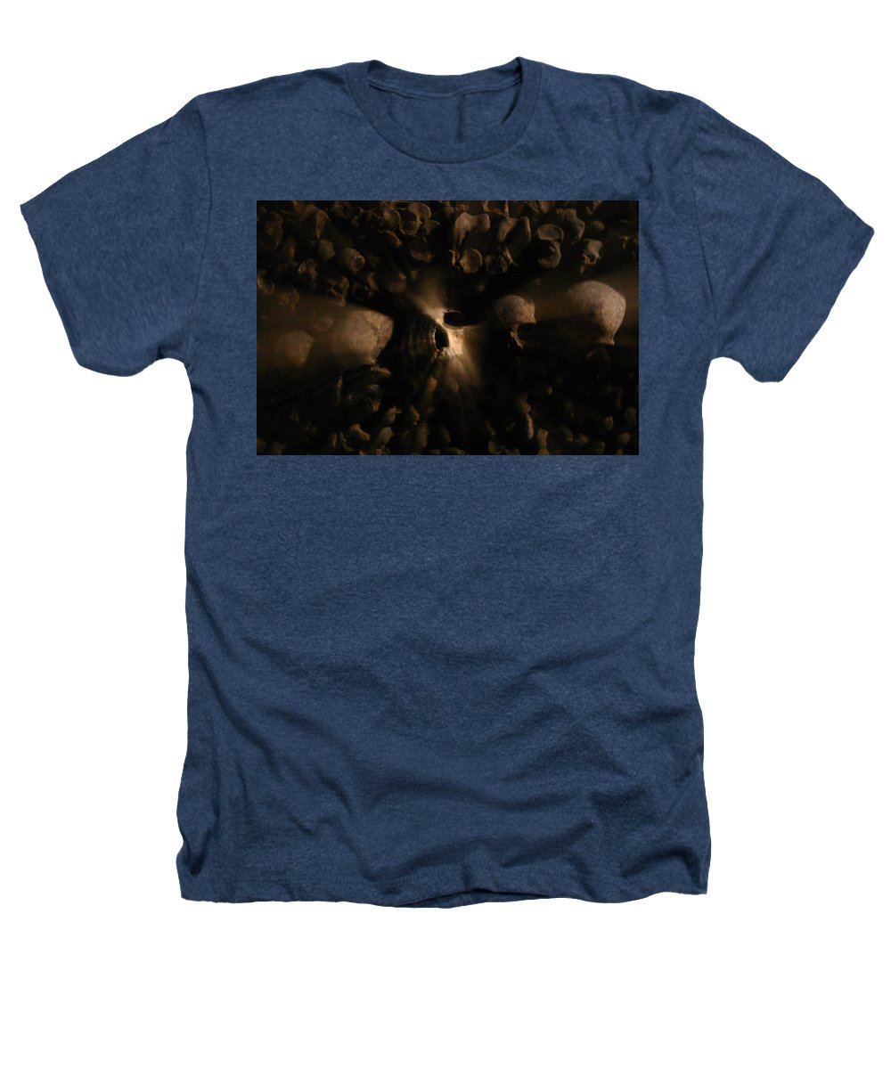 Heathers T-Shirt featuring the photograph Catacombs - Paria France 3 by Jennifer McDuffie