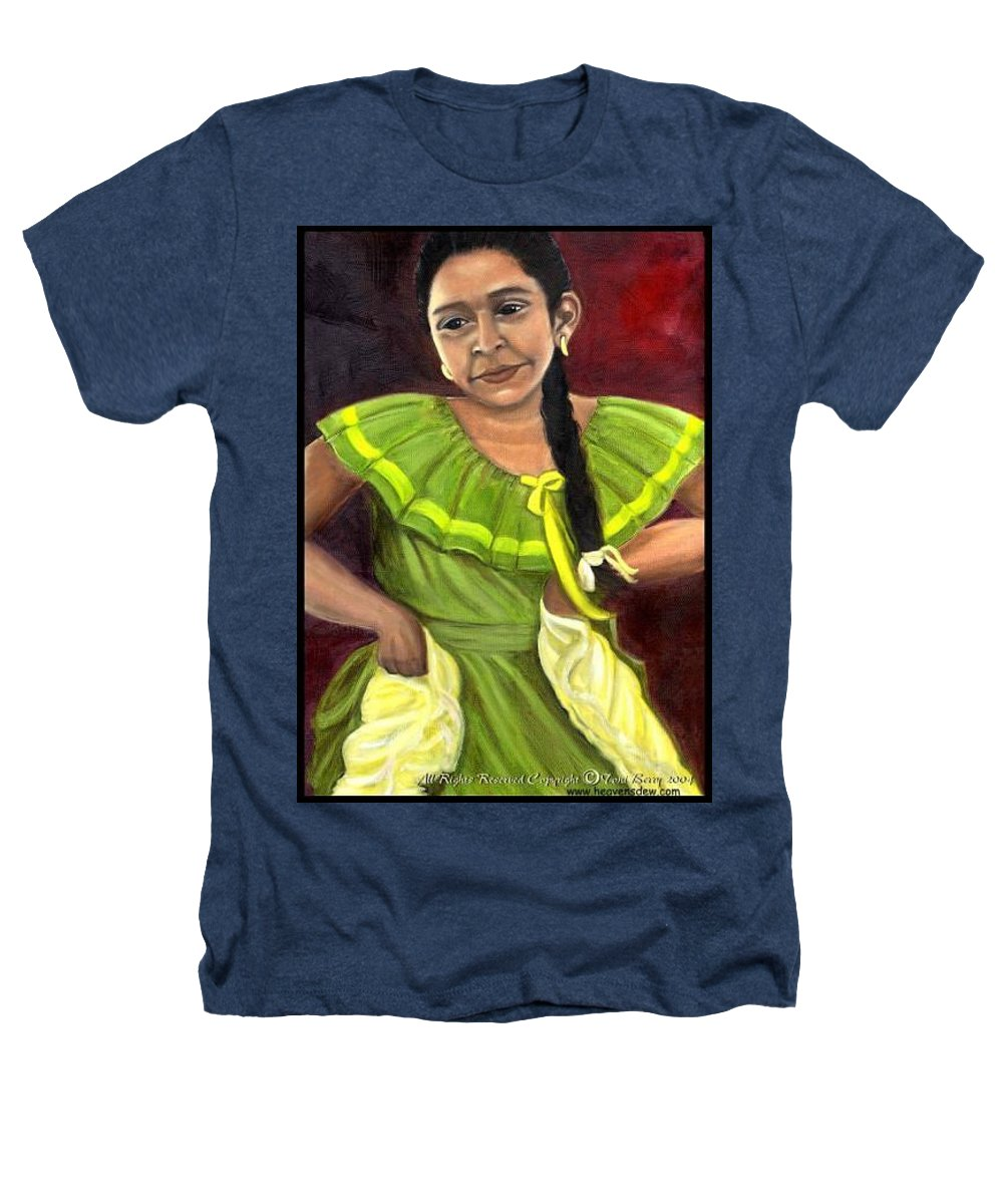Heathers T-Shirt featuring the painting Cecelia by Toni Berry