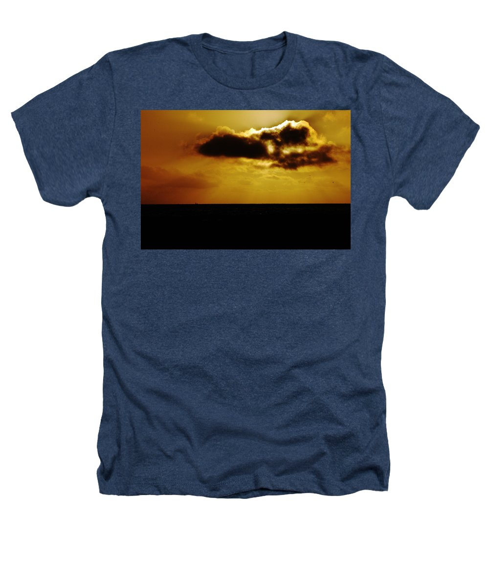 Clay Heathers T-Shirt featuring the photograph Clouds Over The Ocean by Clayton Bruster