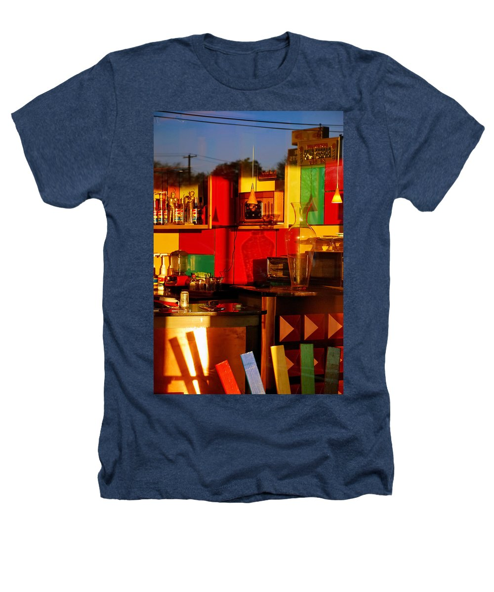 Skip Hunt Heathers T-Shirt featuring the photograph Coffee Shop by Skip Hunt