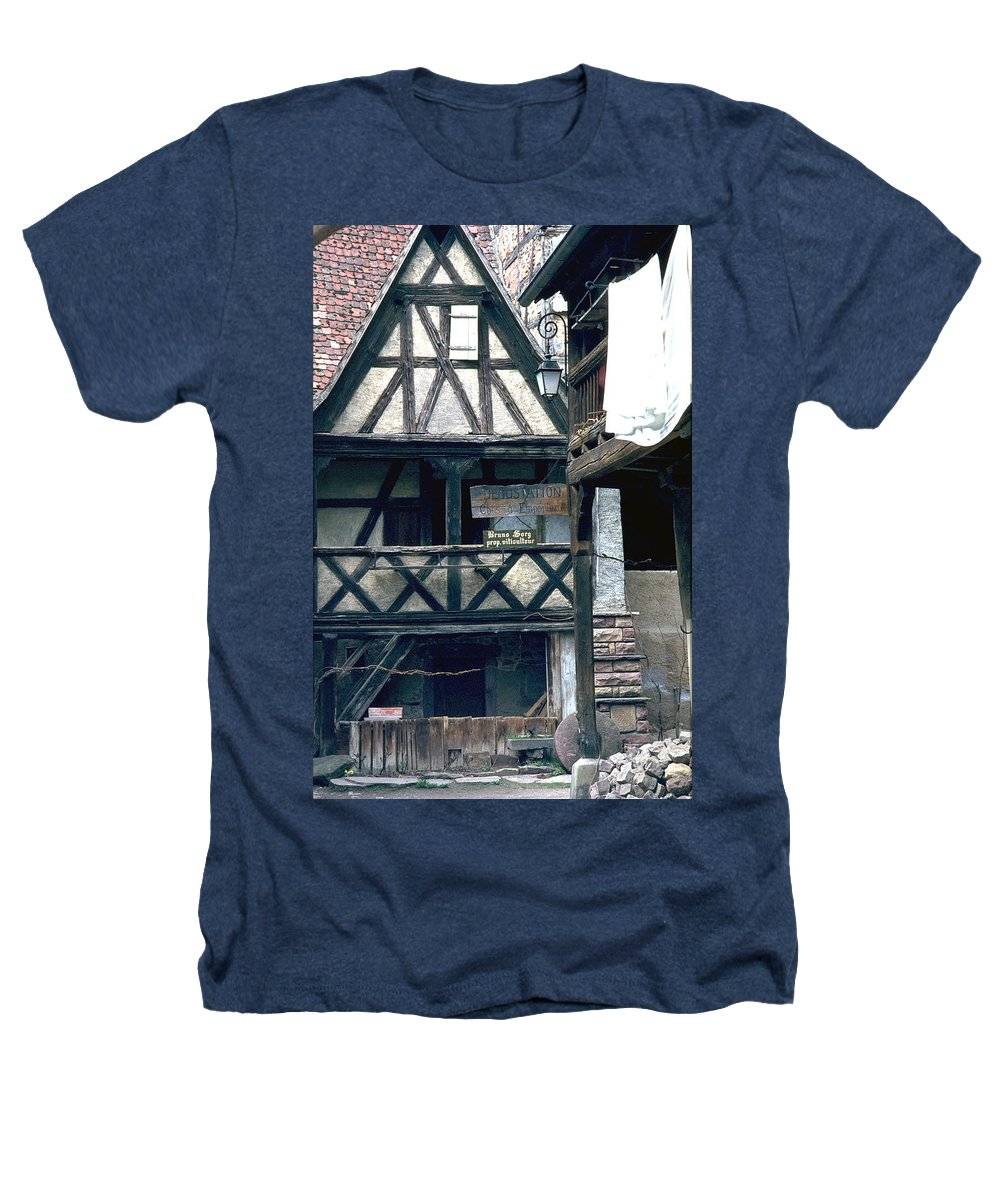 Colmar Heathers T-Shirt featuring the photograph Colmar by Flavia Westerwelle