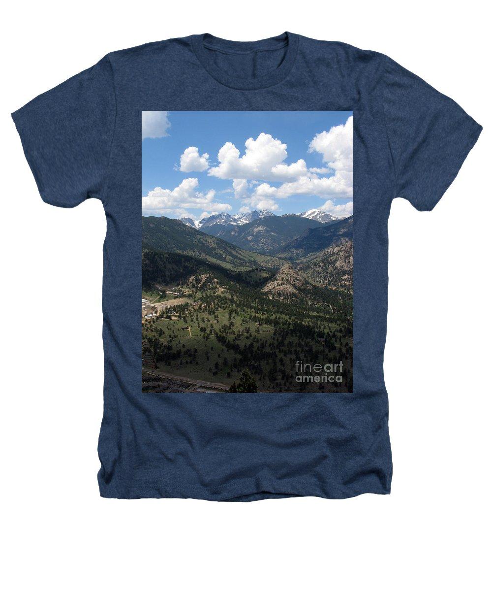 Colorado Heathers T-Shirt featuring the photograph Colorado by Amanda Barcon