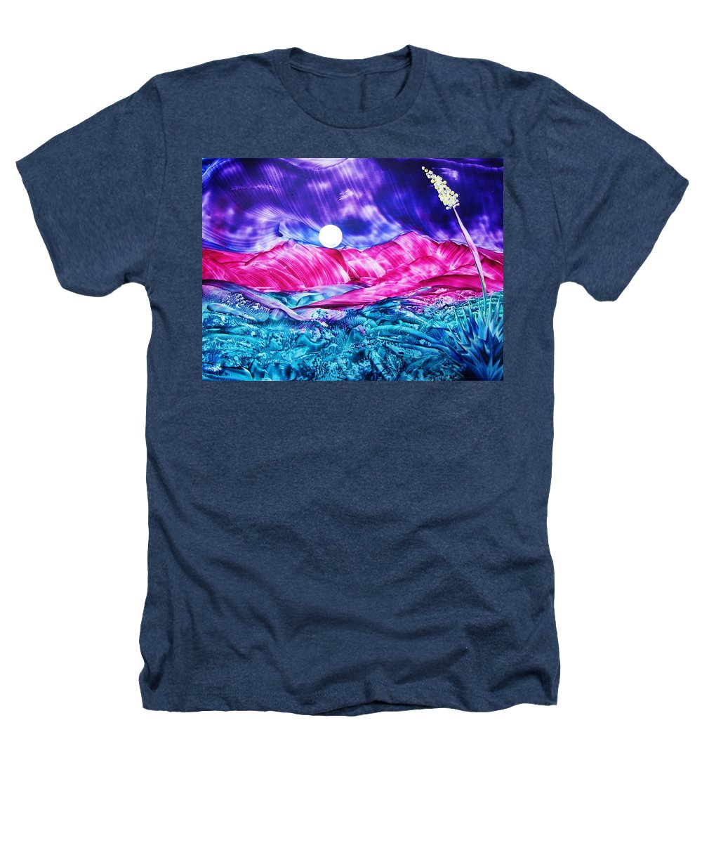 Bold Heathers T-Shirt featuring the print Colorful Desert by Melinda Etzold