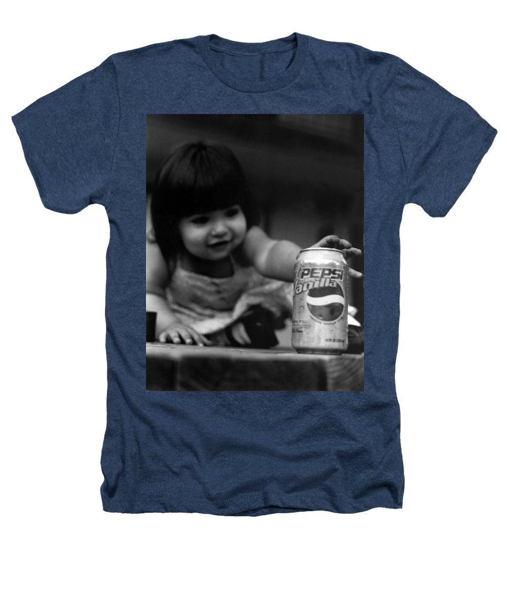 Dark Art Heathers T-Shirt featuring the photograph Consumer by Peter Piatt