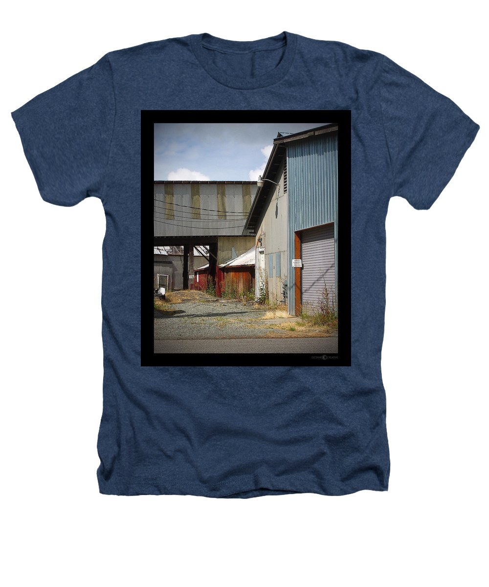 Corrugated Heathers T-Shirt featuring the photograph Corrugated by Tim Nyberg