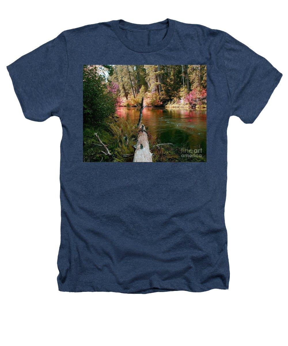 Fall Season Heathers T-Shirt featuring the photograph Creek Fall by Peter Piatt