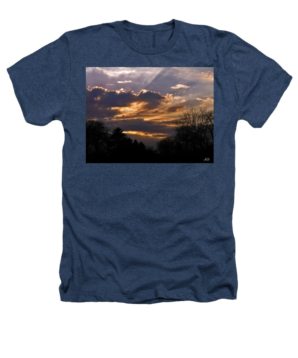 Cloud Heathers T-Shirt featuring the photograph Crown Cloud by Albert Stewart