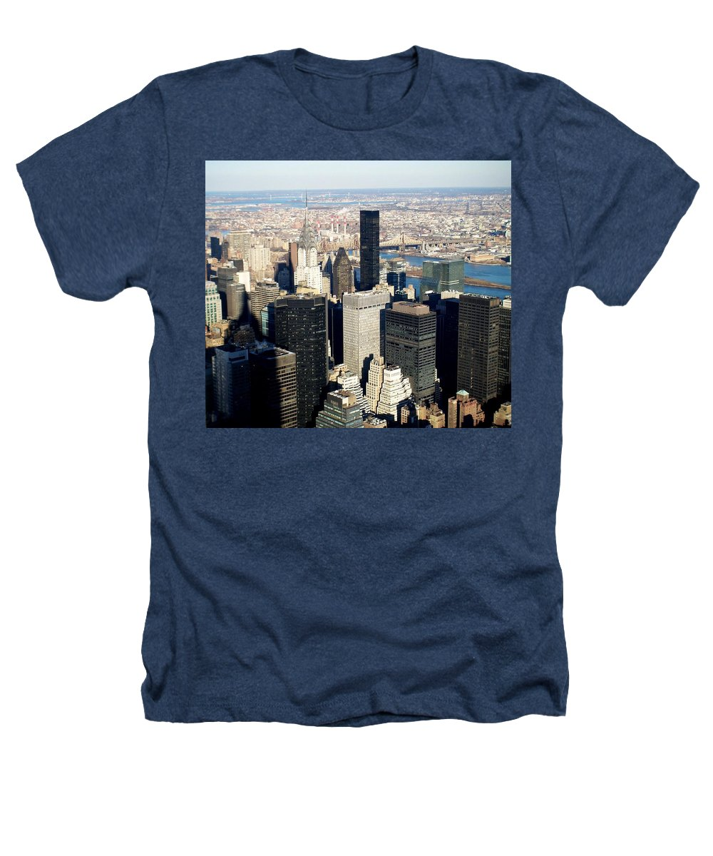 Crystler Building Heathers T-Shirt featuring the photograph Crystler Building 2 by Anita Burgermeister