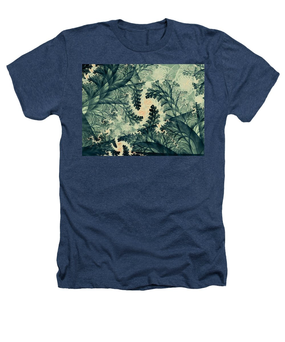 Plant Heathers T-Shirt featuring the digital art Cubano Cubismo by Casey Kotas