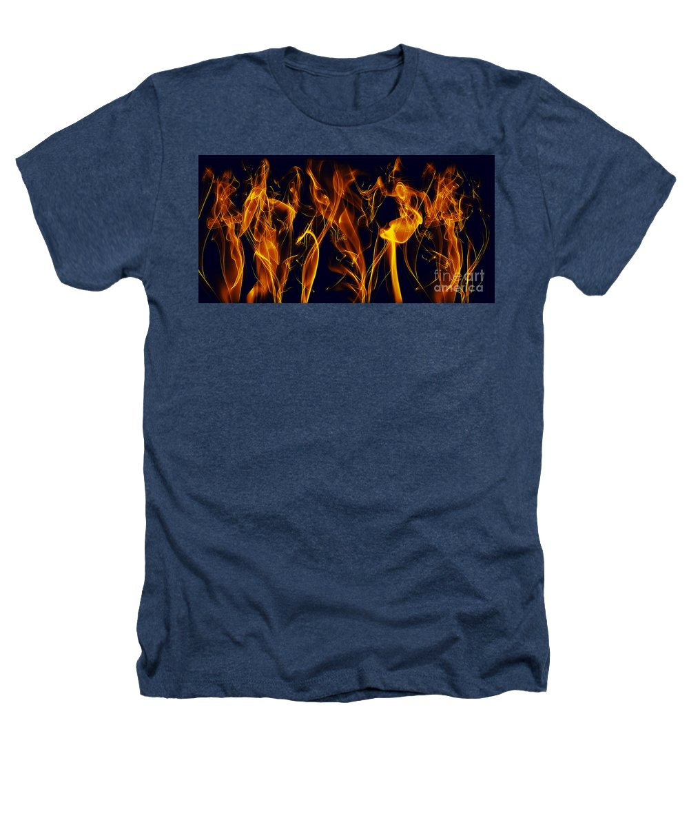 Clay Heathers T-Shirt featuring the digital art Dancing by Clayton Bruster