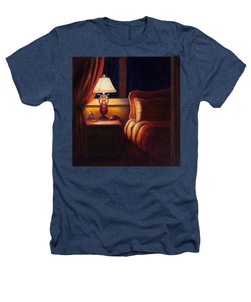 Still Life Heathers T-Shirt featuring the painting Days End by Shannon Grissom