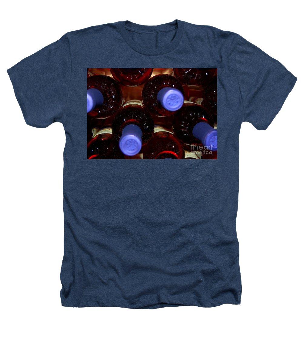 Wine Heathers T-Shirt featuring the photograph De-vine Wine by Debbi Granruth